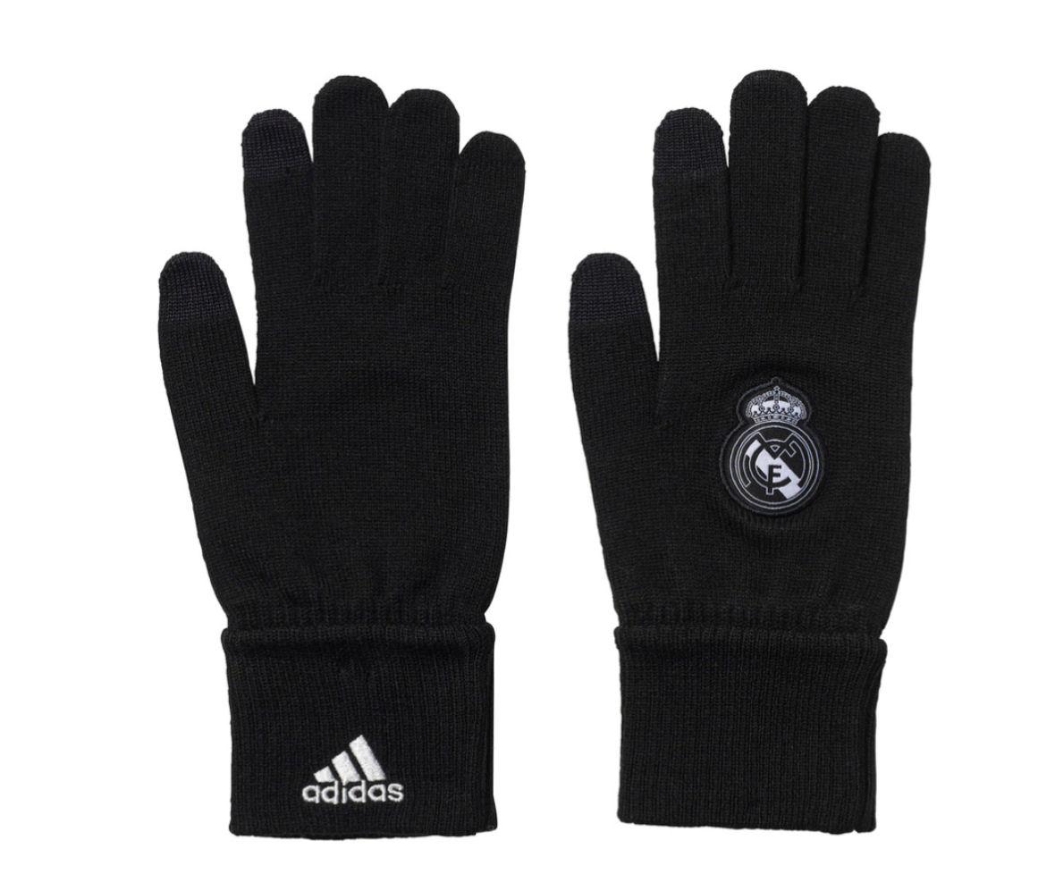 2016-2017 Real Madrid Adidas Gloves (Black)