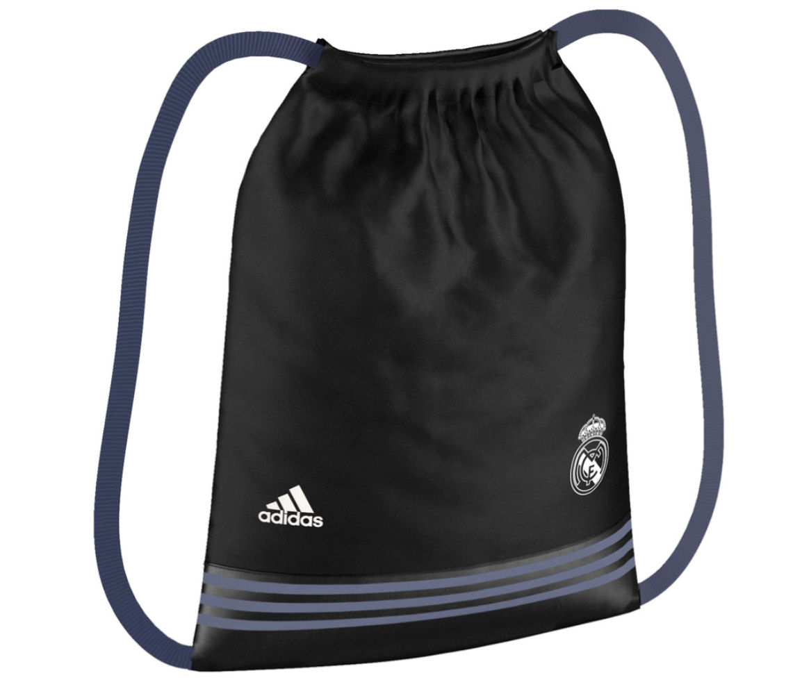 20162017 Real Madrid Adidas Gym Bag (Black)