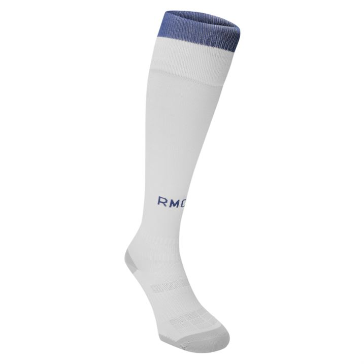 20162017 Real Madrid Adidas Home Socks (White)