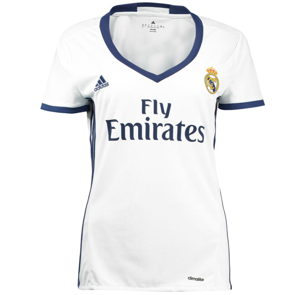 20162017 Real Madrid Adidas Womens Home Shirt