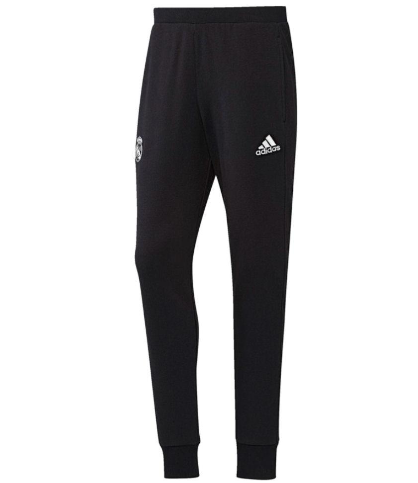 2016-2017 Real Madrid Adidas Sweat Pants (Black)