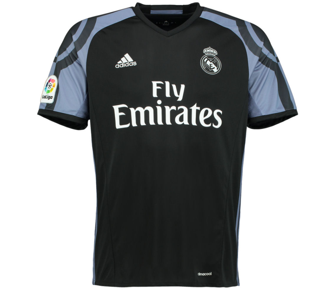 20162017 Real Madrid Adidas Third Football Shirt