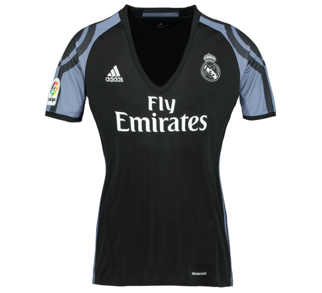 20162017 Real Madrid Adidas Womens Third Shirt