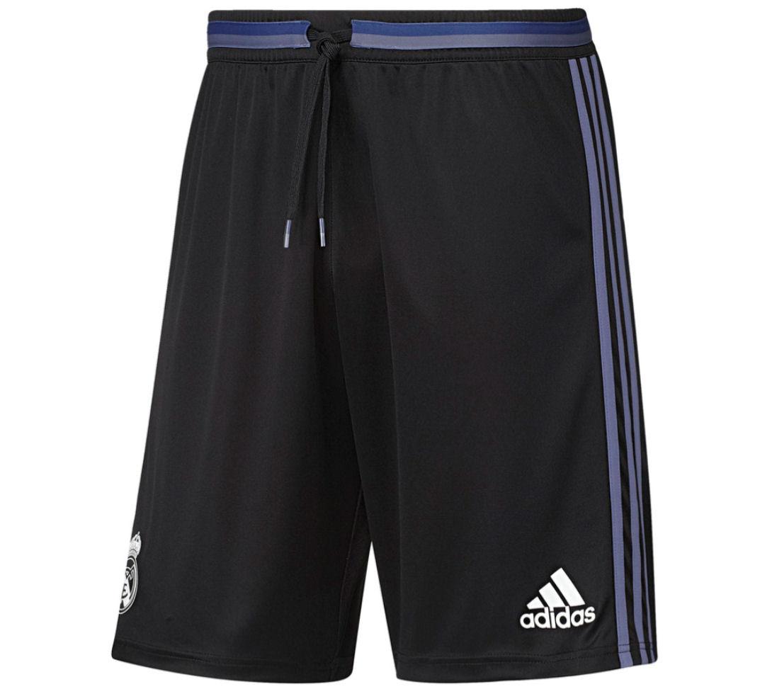 2016-2017 Real Madrid Adidas Training Shorts (Black)