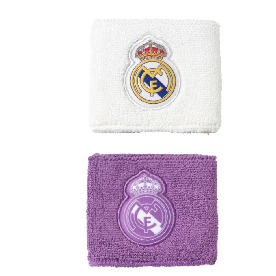 2016-2017 Real Madrid Adidas Wristbands (White)