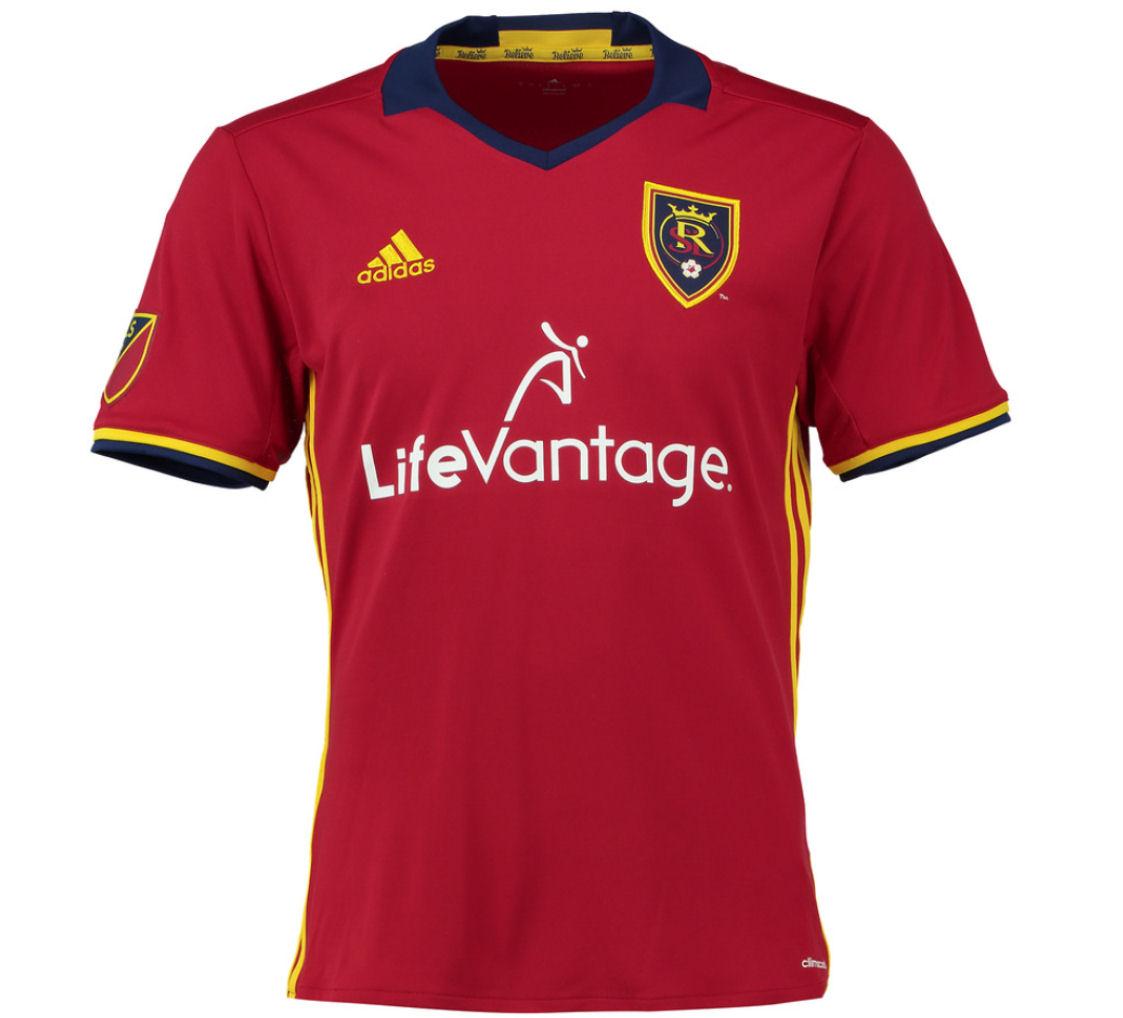 2017 Real Salt Lake City Adidas Home Football Shirt