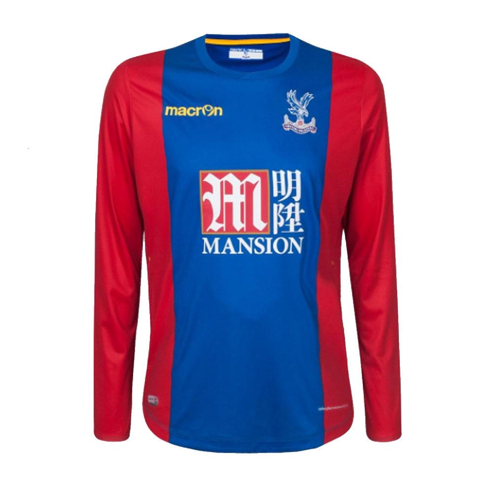 2016-17 Crystal Home LS Football Shirt