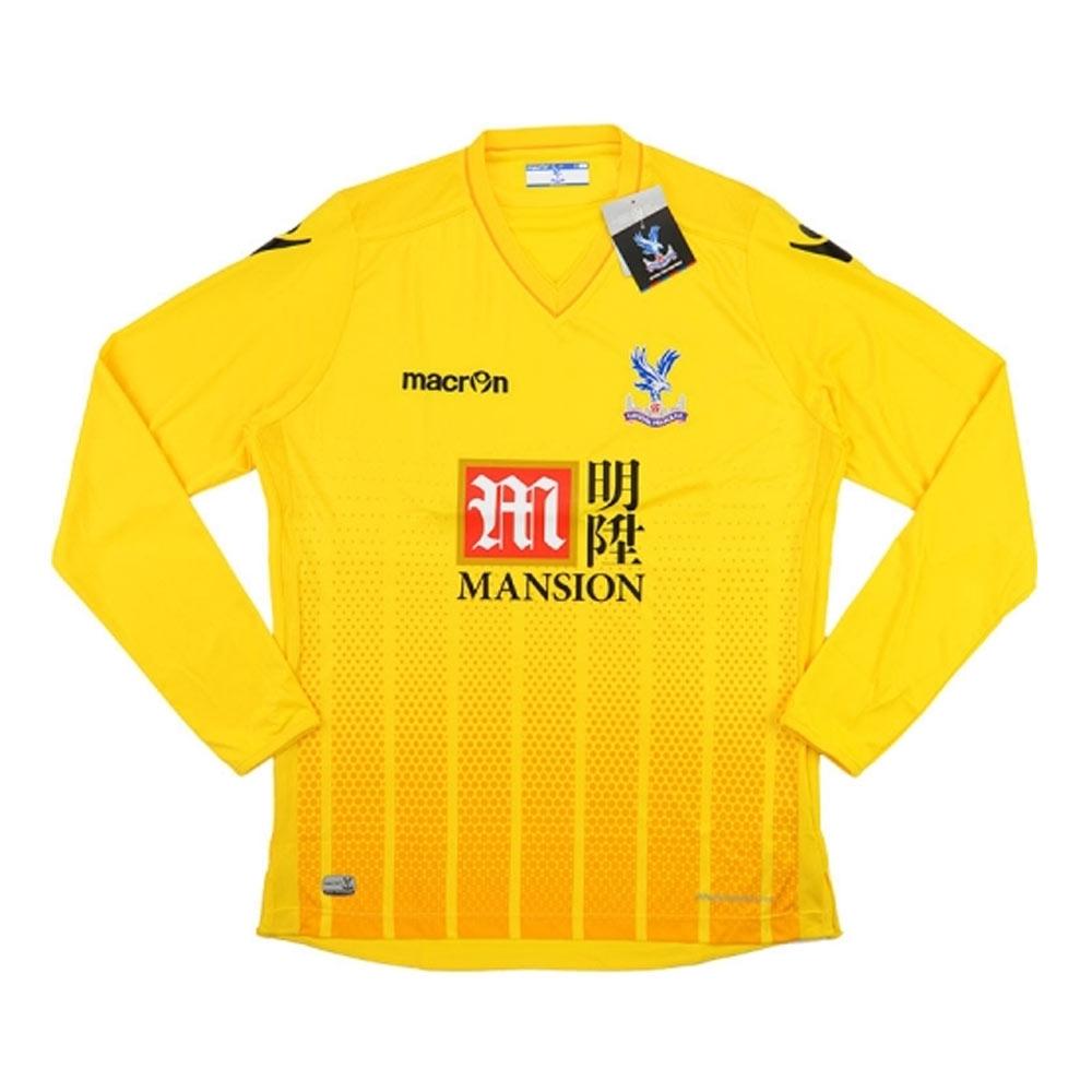 2015-16 Crystal Palace Macron Away Goalkeeper Shirt