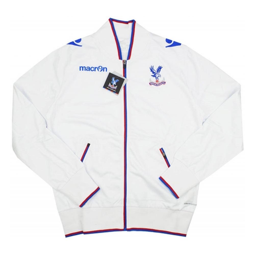 2015-16 Crystal Palace Macron Anthem Jacket (White)