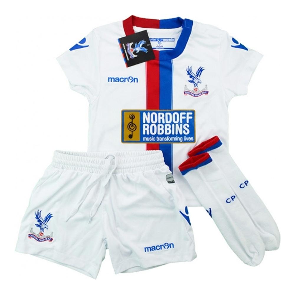 2015-16 Crystal Palace Macron Away Baby Mini Kit