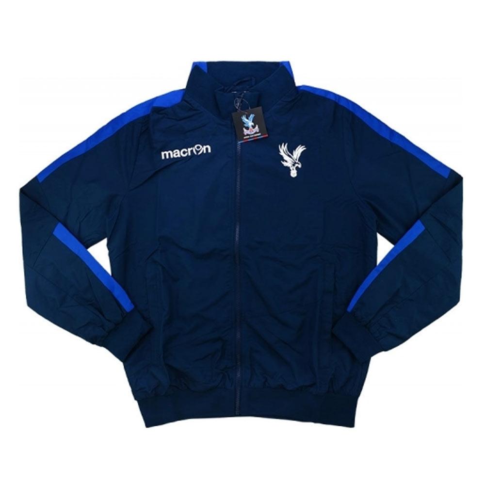 2016-17 Crystal Palace Macron Woven Travel Jacket (Navy)