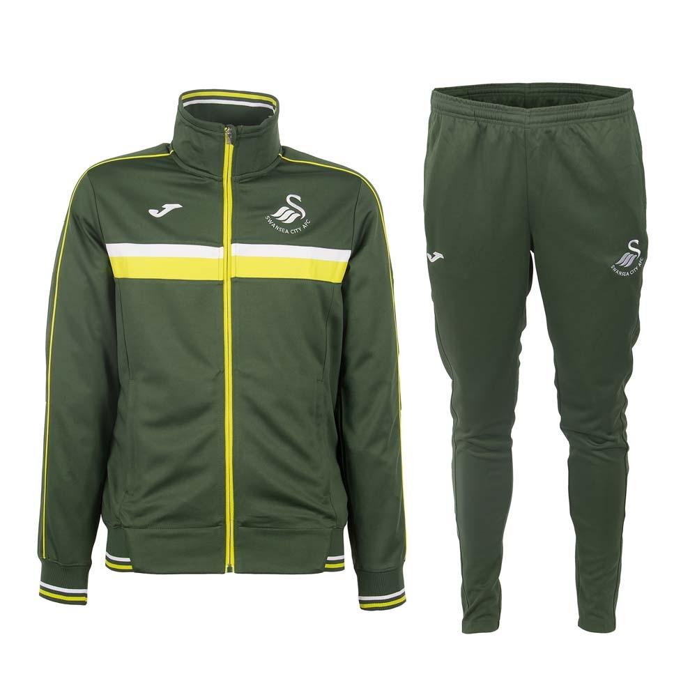 2016-17 Swansea Joma Training Tracksuit Boys (Green)