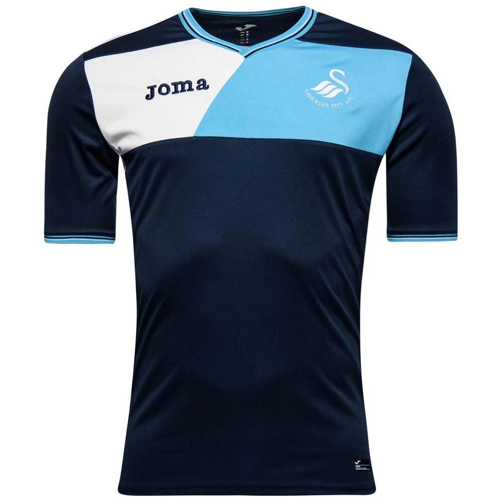 2016-17 Swansea Joma Training T-shirt (Blue)