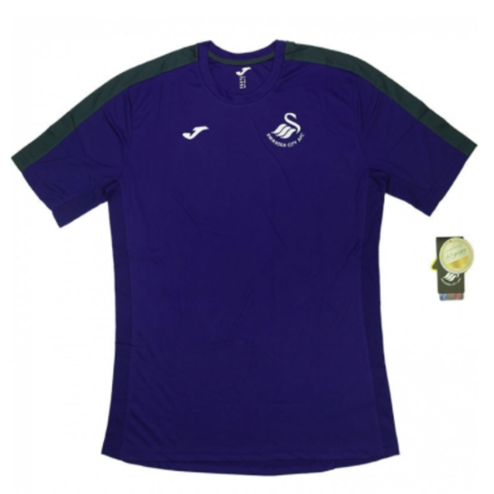 2016-17 Swansea Training Shirt Womens (Purple)