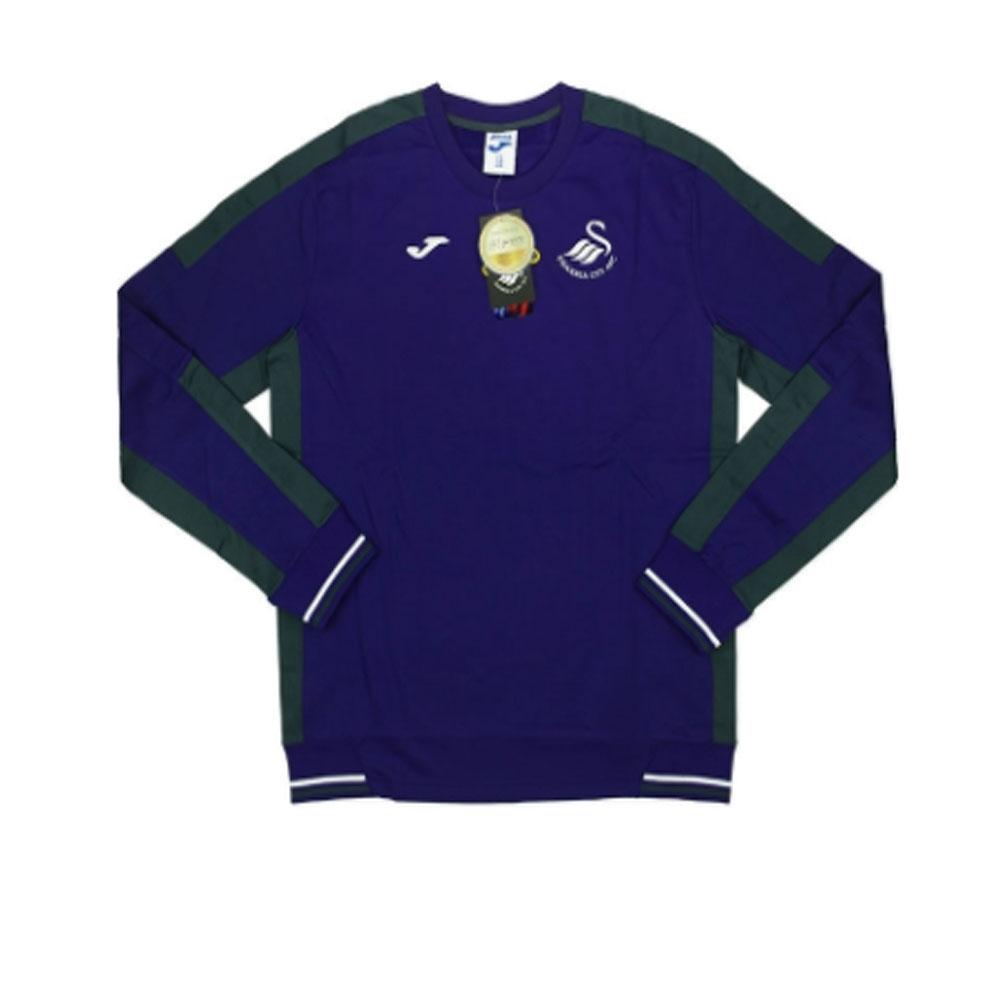 2016-17 Swansea Joma Sweat Training Top (Purple)