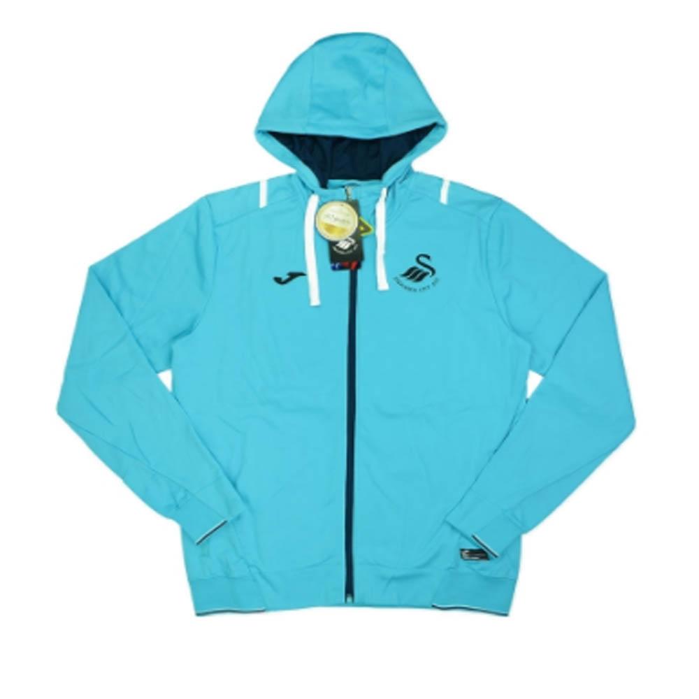 2016-17 Swansea Joma Hooded Travel Jacket Size