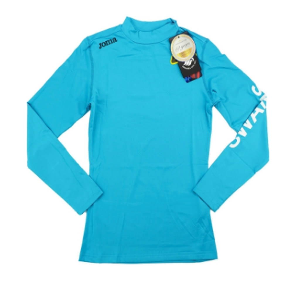 2016-2017 Swansea Compression Away L/S Base Layer (Blue).