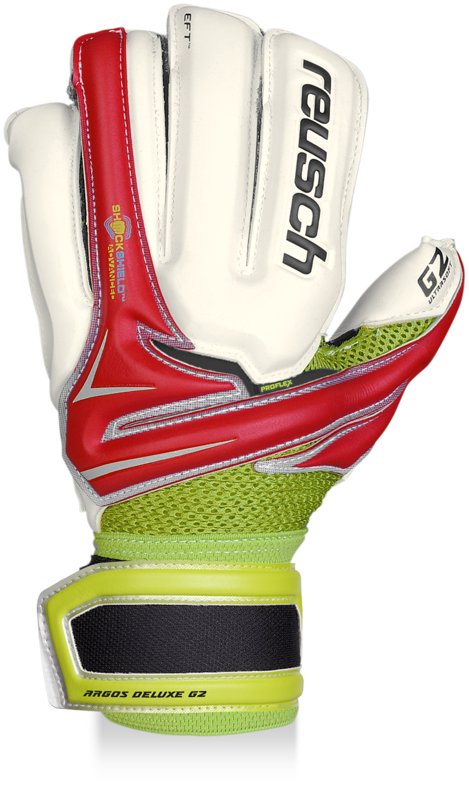 Reusch Argos Deluxe G2 Goalkeeper Gloves (red)
