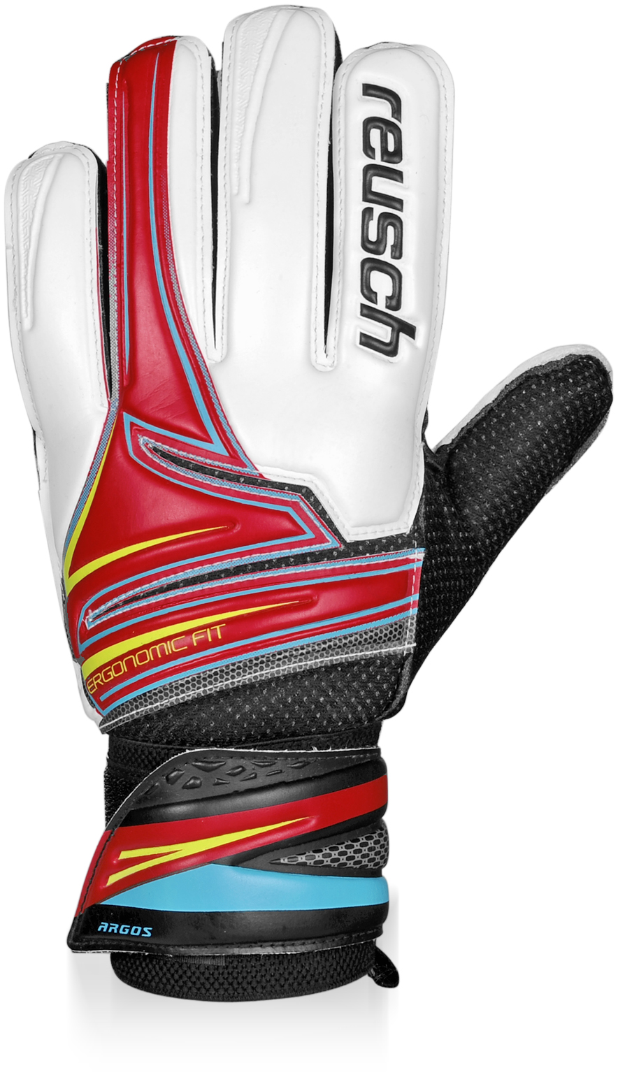 Reusch Argos Junior Goalkeeper Gloves (red)