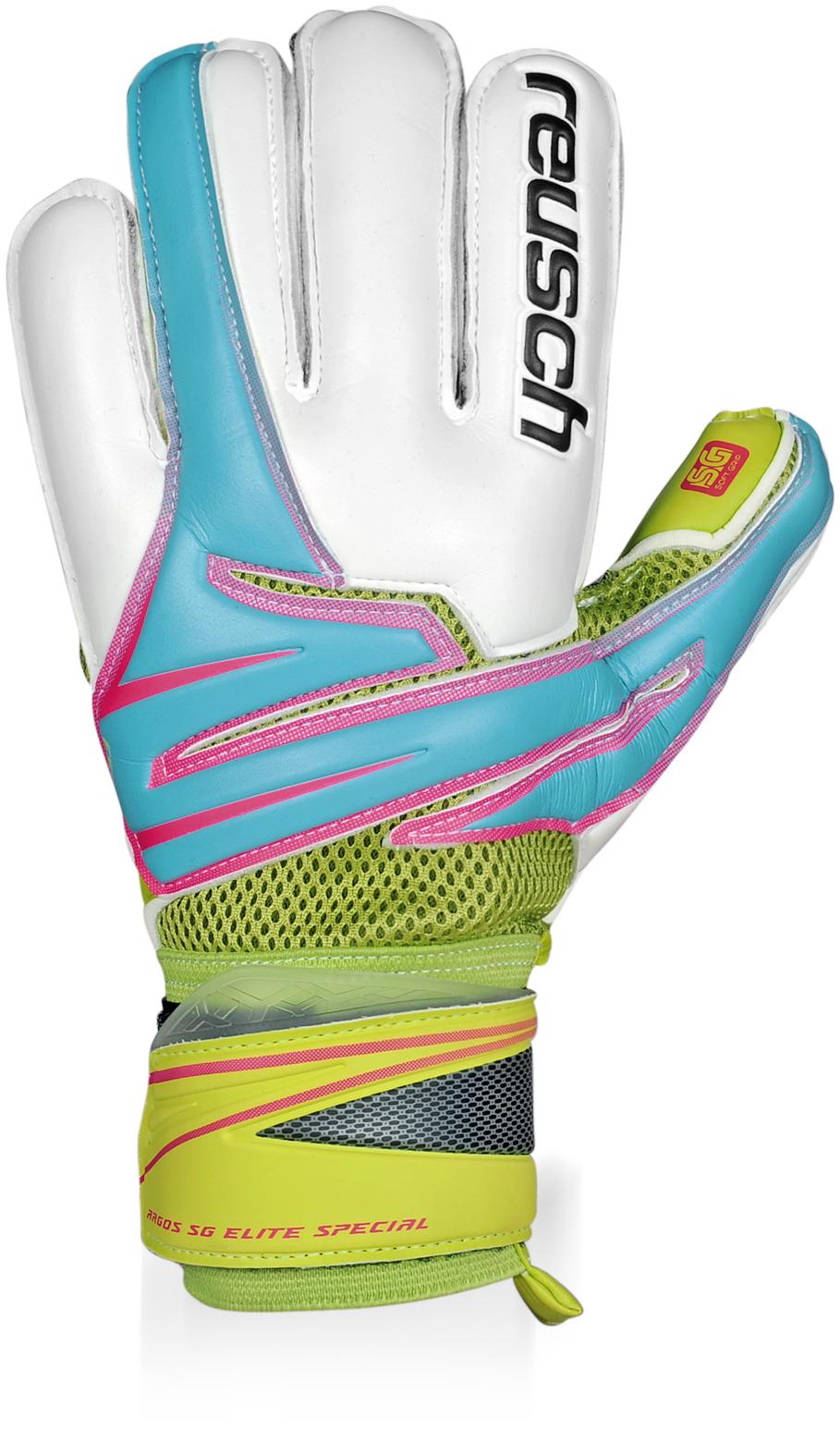 Reusch Argos Sg Elite Special Goalkeeper Gloves (aqua)