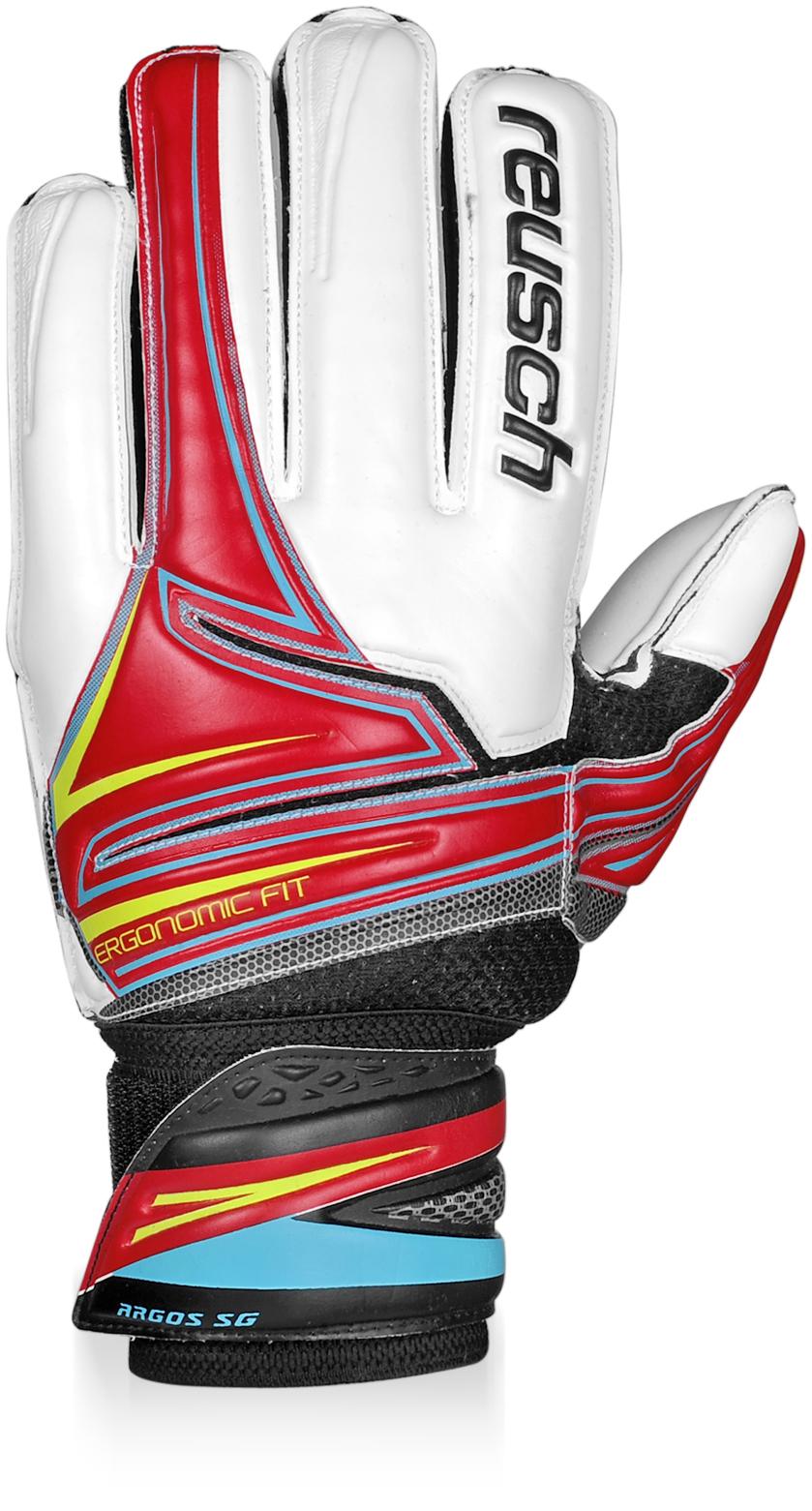 Reusch Argos Sg Finger Support Goalkeeper Gloves (red)