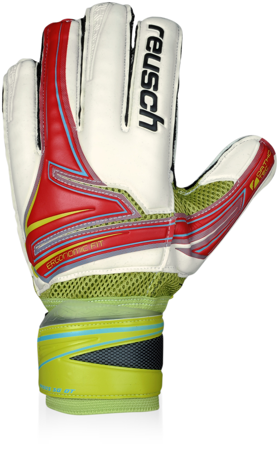 Reusch Argos Sg Orthotec Goalkeeper Gloves (red)