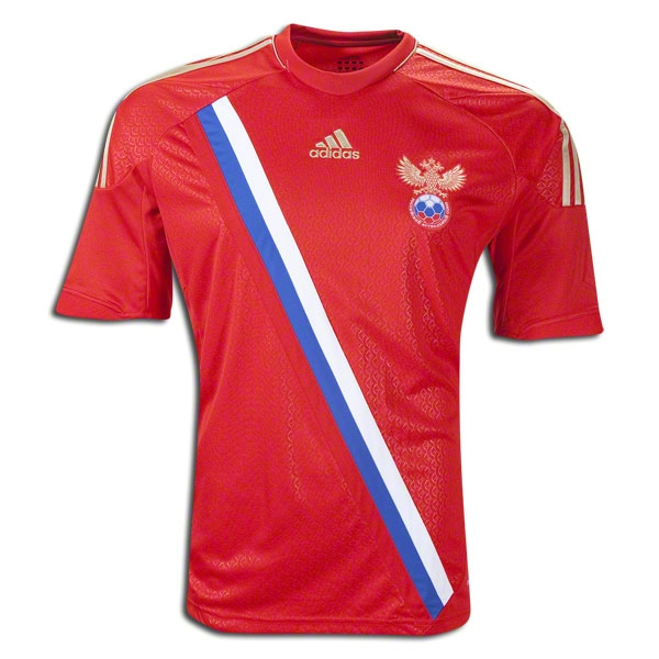 Image of 2012-13 Russia Euro 2012 Home Football Shirt - XXL