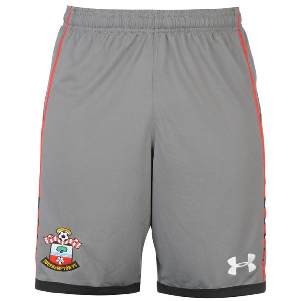 2016-2017 Southampton Away Football Shorts (Graphite)