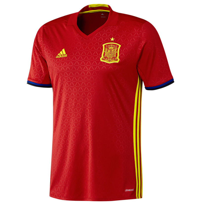 20162017 Spain Home Adidas Football Shirt (Kids)