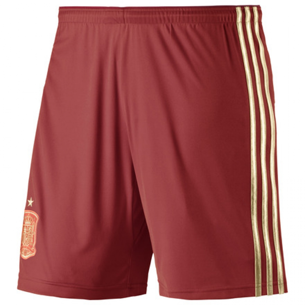 201415 Spain Home World Cup Football Shorts (Kids)