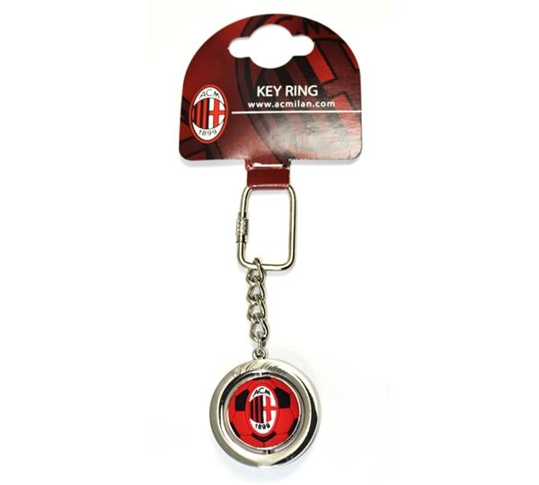 Ac Milan Football Spinner Keyring