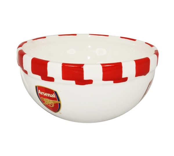Arsenal Bar Scarf Cereal Bowl