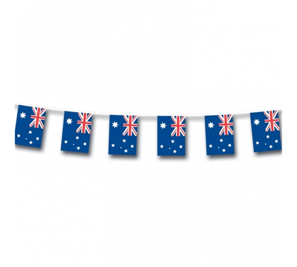 Australia Small Flag Bunting