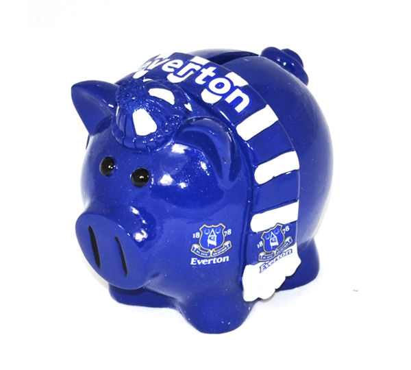 Everton Small Scarf Piggy Bank