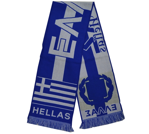 Greece Acrylic Scarf