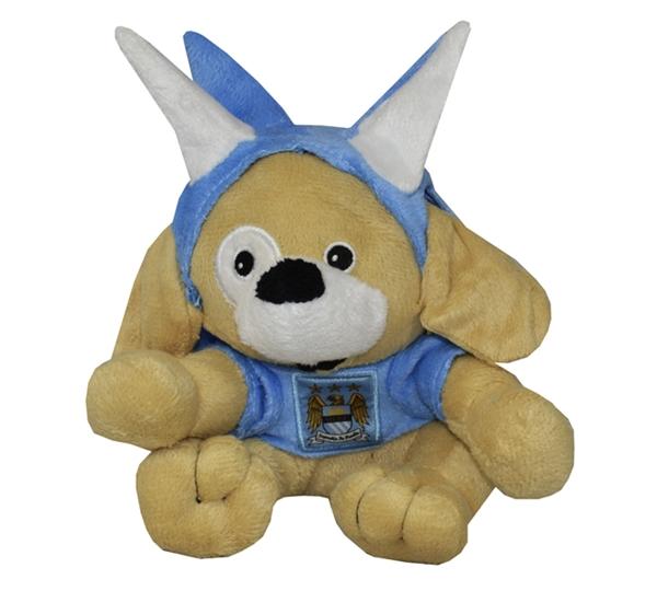 Man City Dog Bear With Spike Hat