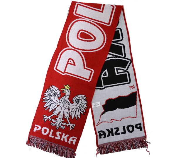 Poland Acrylic Scarf