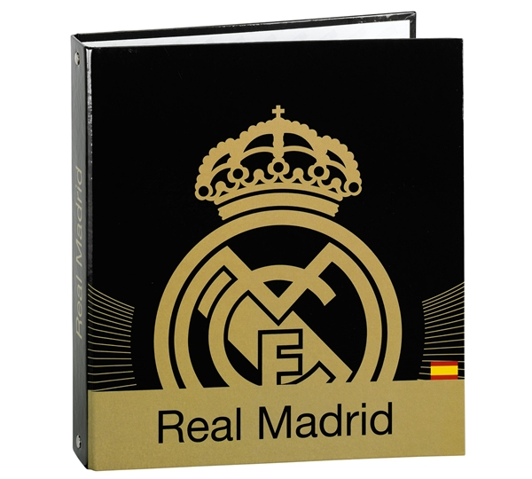 Real Madrid A5 Cardboard Ring Binder 4 Rings (pk Of 2) 51125716