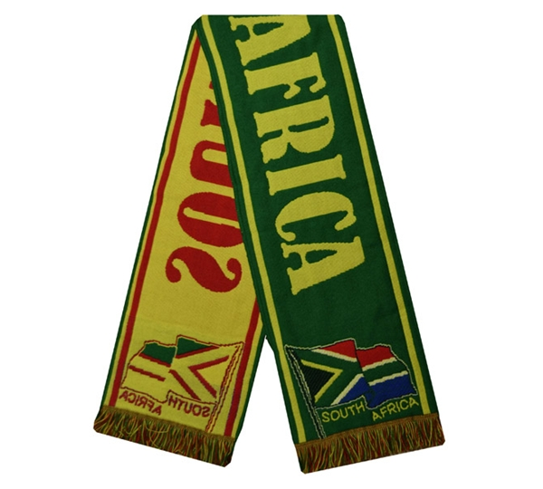 South Africa Acrylic Scarf
