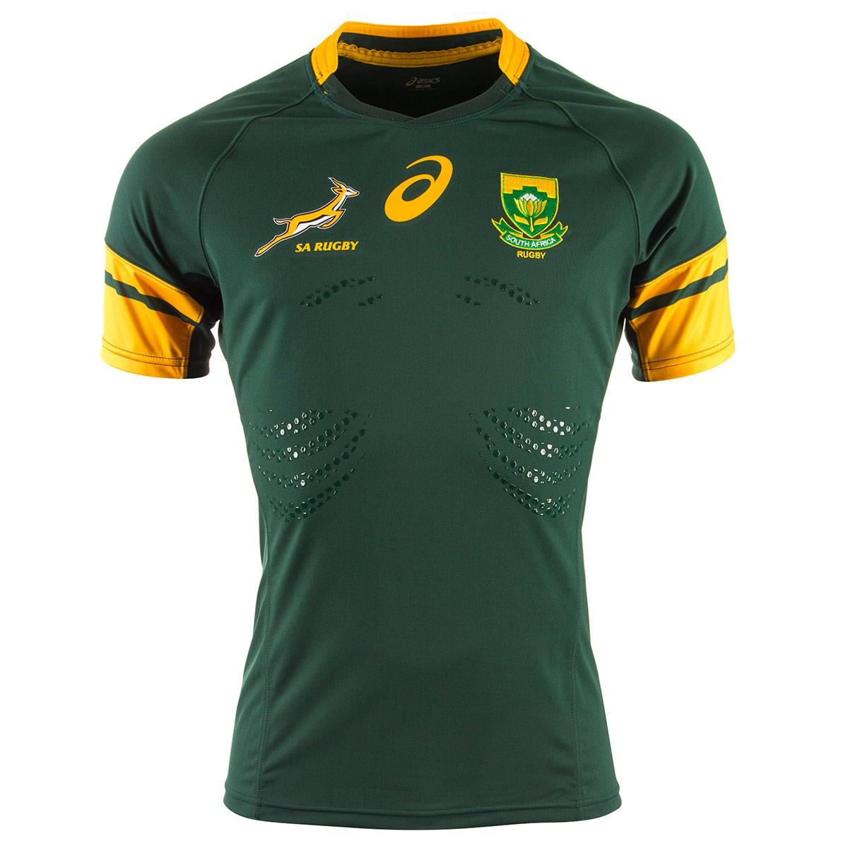 20162017 South Africa Springboks Home Test Rugby Shirt