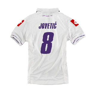 2011-12 Fiorentina Lotto 3rd Shirt (Jovetic 8)