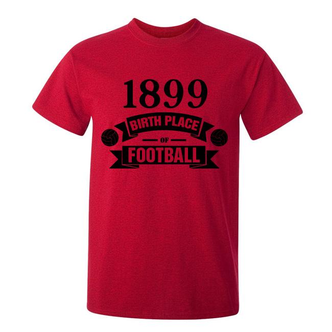 Ac Milan Birth Of Football Tshirt (red)