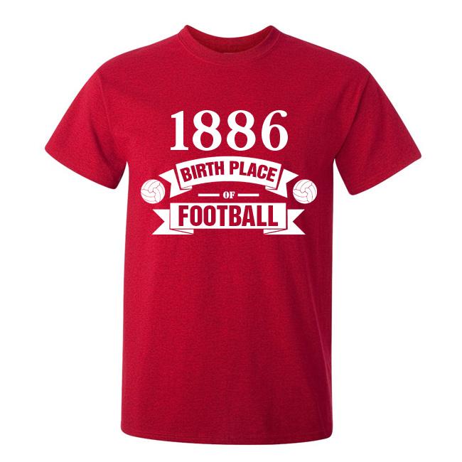 Arsenal Birth Of Football Tshirt (red)  Kids