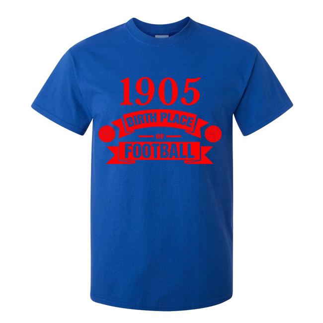 Crystal Palace Birth Of Football T-shirt (blue) - Kids