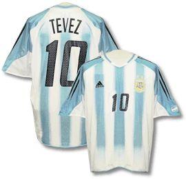 Argentina home (Tevez 10) 04/05
