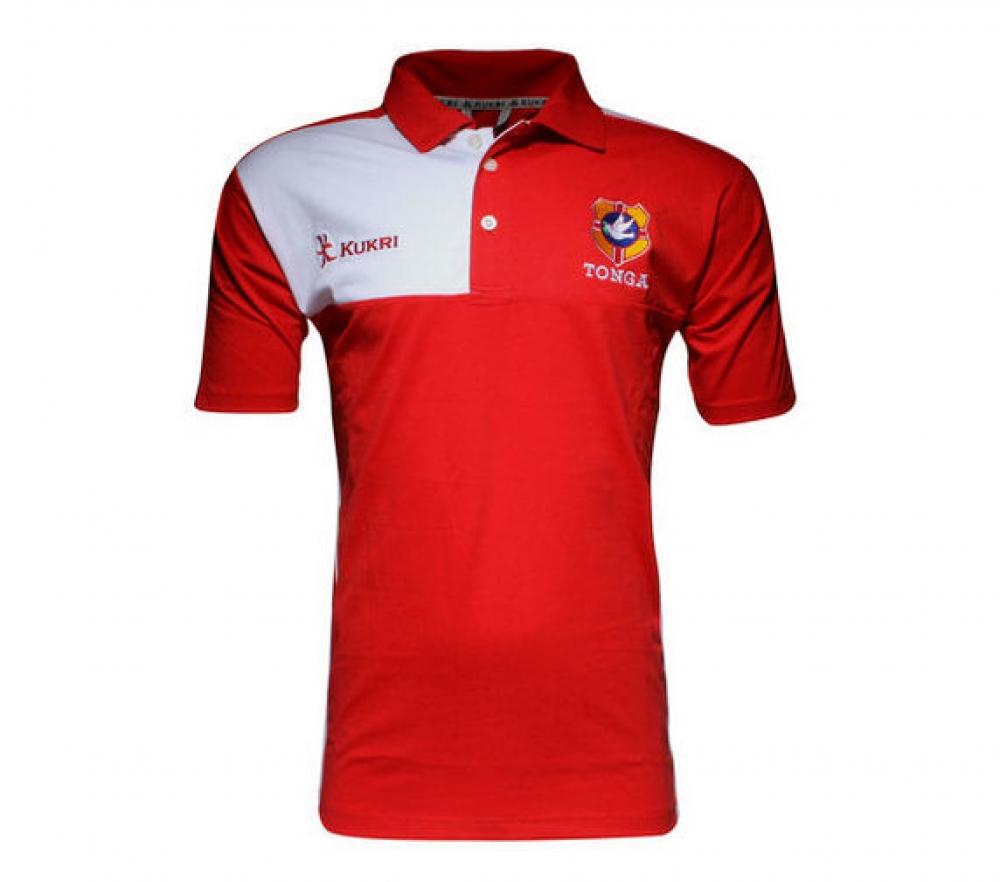 Tonga Kukri Crest T Shirt Black
