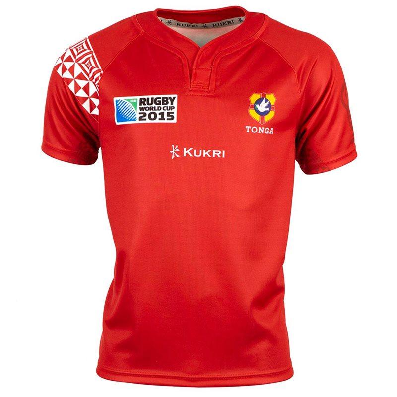 Tonga Kukri 2015 RWC Home Kohlio Rugby Shirt