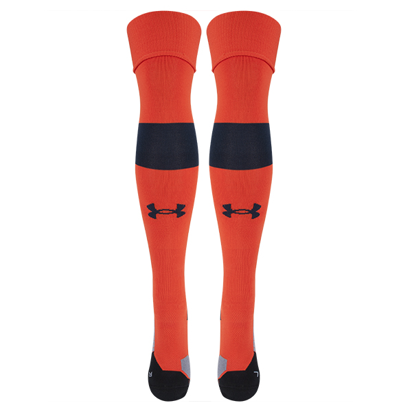 2016-2017 Tottenham Away Goalkeeper Socks (Orange)