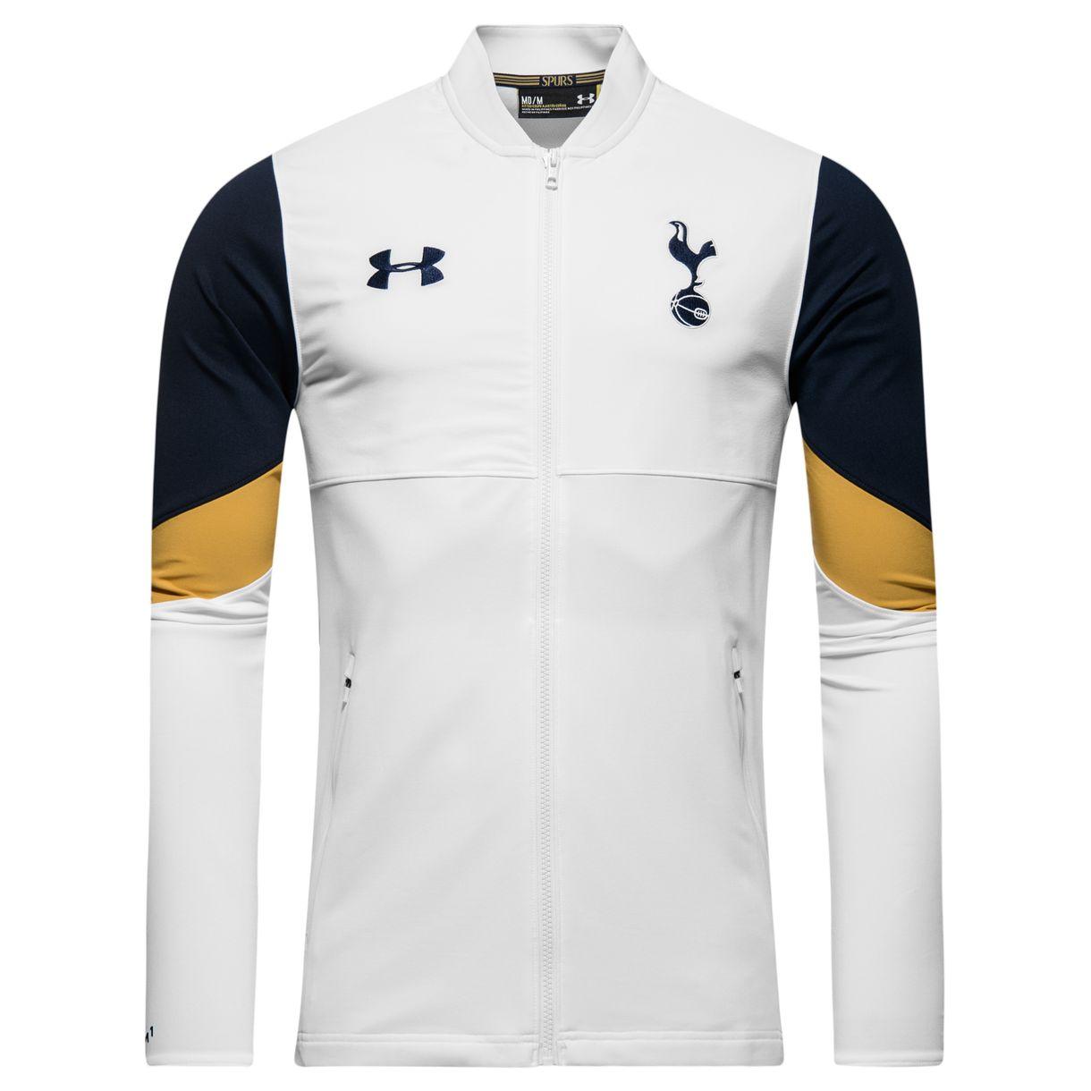 2016-2017 Tottenham Stadium Jacket (White)