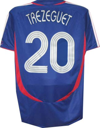 France home (Trezeguet 20) 06/07